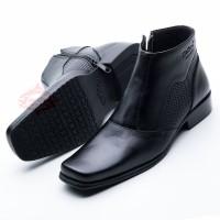 Sepatu Boot/Boots Premium Kulit Sapi Lokal Best Quality 0314 HT