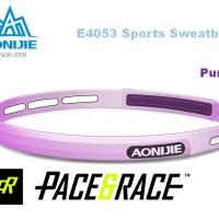 Aonijie E4053 Silicone Sweatband Sports PURPLE penahan keringat