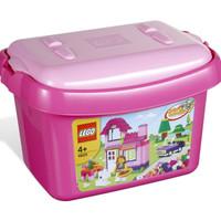 ready LEGO 4625 - Brick and More - Pink Brick Box Limited