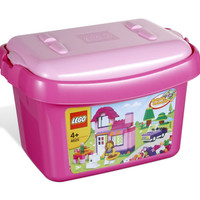 ready EXKLUSIF LEGO 4625 - Brick and More - Pink Brick Limited