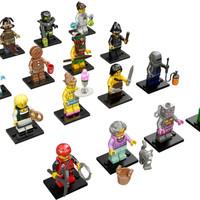 Sayang anak LEGO 71002 - LEGO Minifigures Series 11 Com Berkualitas