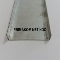 Siku Besi 50mm Aluminium C Purlin Beam Running Text Videotron LED