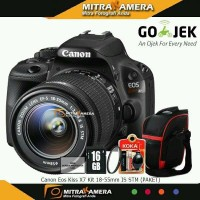 Canon Kiss X7 Kit 18 55mm Is Stm PAKET WOW kamera DSLR CANGGIH HANDY