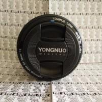 LENSA FIX KAMERA DSLR YONGNUO YOUNGNOU YN 35mm 35 F2 0 FOR SLR CANON