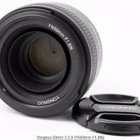 Lensa Fix Nikon 50mm F1 8 AFS Auto Fokus untuk D3000 D3100 D3200 D33