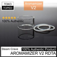 Authentic Replacement Glass for Aromamizer V2 RDTA | Steam Crave tube