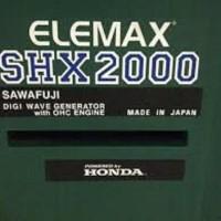TERLARIS Genset Honda Elemax SHX 2000 2 Kva