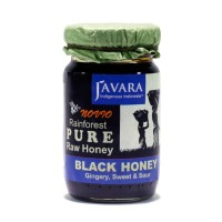 (Sale) Javara Black Honey Raw Honey 150 gram
