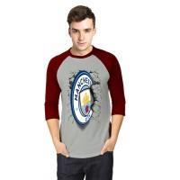 Hdt Store Kaos 3D Manchester City Elegant 2 Raglan Abu
