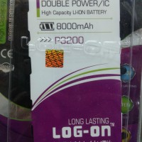 Baterai Log on samsung galaxy tab P3200/T211 8000Mah Double Power