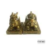 Fengshui Patung Pi Xiu Pi Yao Pi Cek Emas Penangkal Chi Negatif