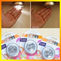 Lampu Emergency LED Tempel Darurat Stick and Click Touch LED L Limited