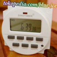 digital timer AC 220v switch countdown modul otomatis on off terjadwal