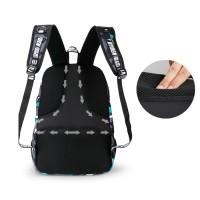 Best Quality Tas Ransel Leaper Kampus dengan USB Charger Port -