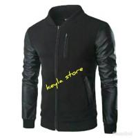 Jual jaket pria semi kulit/jaket motor/jaket touring Murah