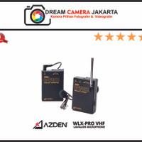 AZDEN WLX-PRO UHF WIRELESS MICROPHONE