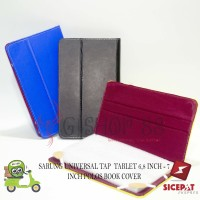 SARUNG UNIVERSAL TAP / TABLET 6,8 INCH - 7 INCH POLOS BOOK COVER
