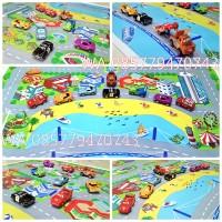 Mainan Jalanan Mobil City Car Bridge on the Beach