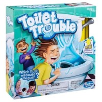 Toilet Trouble Chalenge 4402 Board Game - Mainan Edukasi Seru