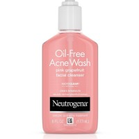 NEUTROGENA Oil-Free Acne Wash Pink Grapefruit Facial Cleanser oil free