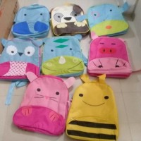 Tas Anak Animal / SCHOOL BAG BAHAN CANVAS (foto nomer 2)
