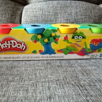 Lilin play-doh playdoh original Hasbro isi 4 cup