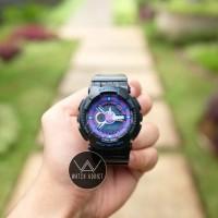 Jam Tangan Unisex Baby-G GA110 G-Shock Black Purple