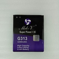 Baterai Batre Double Power + IC Samsung Galaxy V / G313 Battery Origin