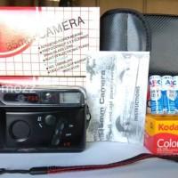 Motorized Analog Camera Novacam I , Kodak isi 36&4pcs ABC Kamera Jadul