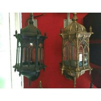 lampu dinding taman klasik antik 5000 A /MN ukuran Medium