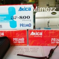 Clearance Sale Motorized Analog Camera Akica Primo BF-800 Kamera Jadul