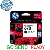 HP 678 ORIGINAL Black Ink / hitam printer 2515 4515 2645 1515 2545
