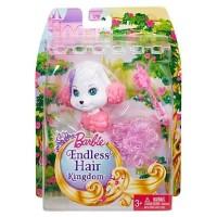 Boneka Barbie Mattel Endless Hair Kingdom Pet Puppy