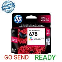 HP 678 ORIGINAL COLOUR / WARNA ink printer 2515 4515 2645 1515 3545