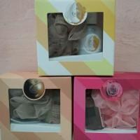duo gift box the body shop shower gel dan mini bath Lily