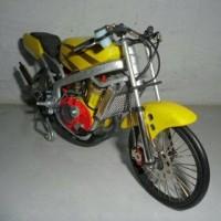 miniatur motor drag dan fullbody