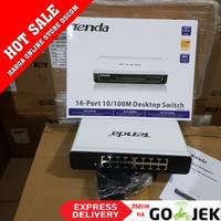 Tenda S16 Desktop Switch 16 Port 10/100Mbps