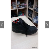 Sepatu Dewasa Remaja sekolah hitam Ardiles MS Gladio Boots Tali 38-42