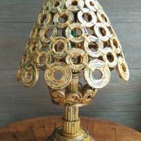 Tempat lampu/bohlam/lampu led/lampu meja - 100% handmade indonesia