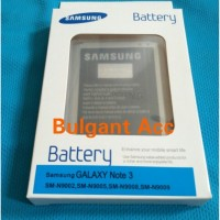 Baterai Battery Samsung Note 3 Original 100%