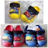 Sandal Crocs Anak Cars Clog Original GROSIR dan ECERAN T1310