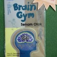 Buku Brain Gym Senam Otak