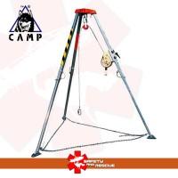 Tripod rescue, Tripod safety, Vertical rescue, Tripod camp Evo