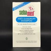 Sampo Shampo Sebamed Anti Dandruff 200ml Shampoo Anti Kemtombe 200 ml
