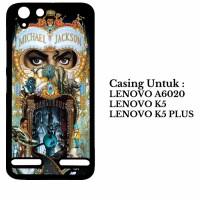 Case Lenovo K5 K5 Plus A6020 michael jackson dangerous Custom Hard Cas