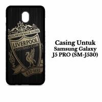 Casing SAMSUNG J5 PRO gold liverpool logo Custom Hardcase Cover