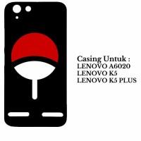 Case Lenovo K5 K5 Plus A6020 uchiha logo Custom Hard Casing Cover