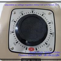 Adjustable ac voltage regulator 2000w  0V sd 250 volt AC  T3009