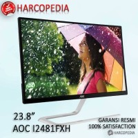 Jual Monitor LED AOC I2481FXH 23,8Inchi IPS 1920x1080 Murah