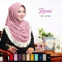Terbaru Terlaris Jilbab Instan Rumi Pad Antem Premium Limited Editio